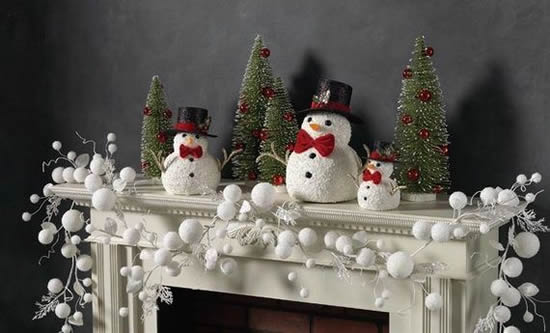 10 dicas para decorar a lareira no natal eu decoro for Xmas decoration ideas 2016