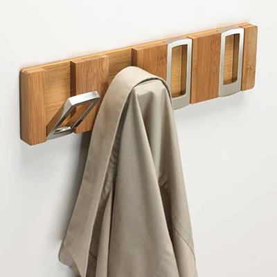10 cabides de parede originais eu decoro for Cool wall hook ideas