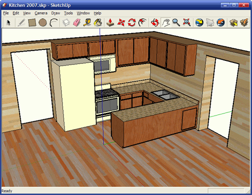 Top 5 ferramentas de design para planejar o seu espa o eu decoro Kitchen design software google sketchup
